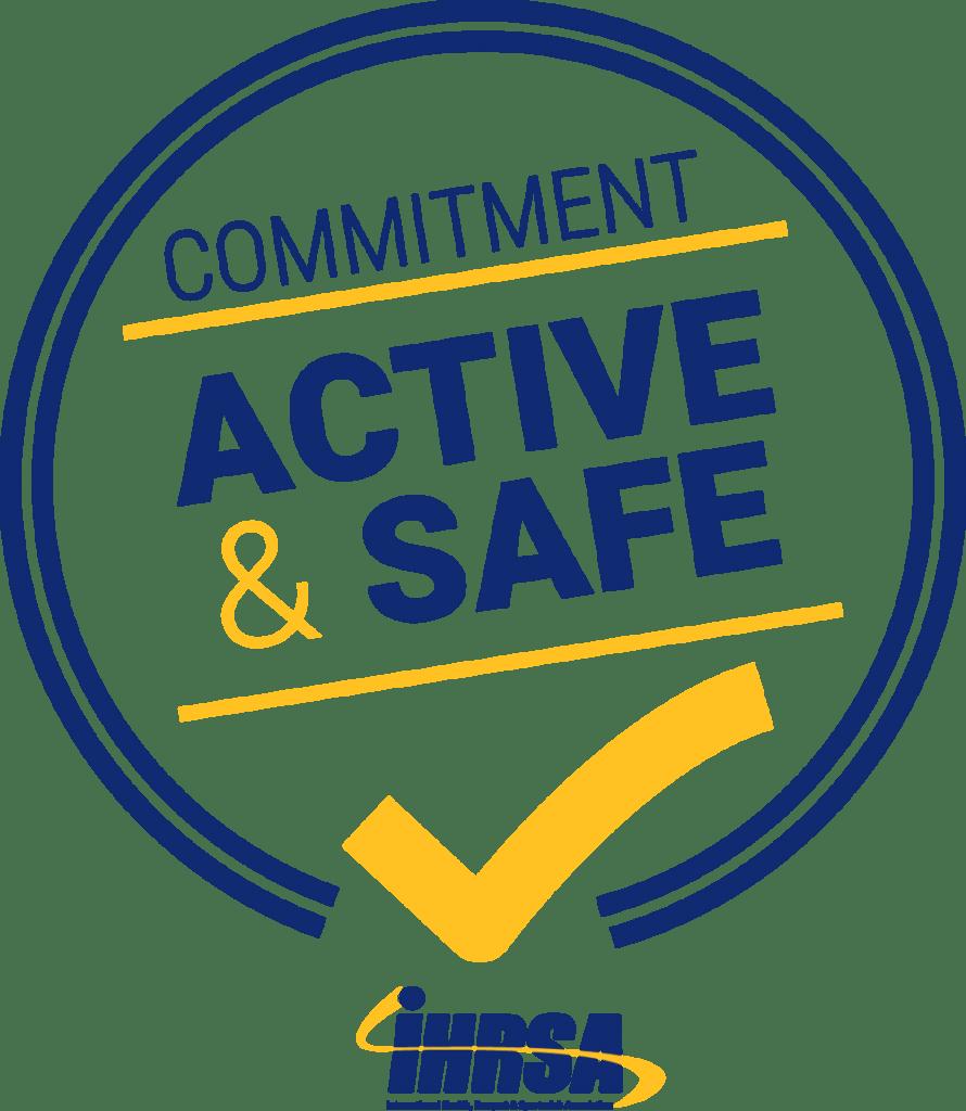 IHRSA Active & Safe logo