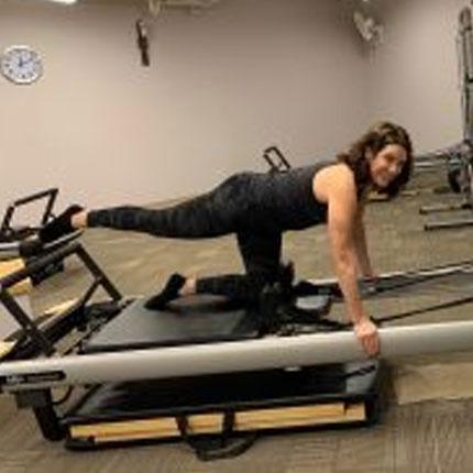 Susan Collins Piltes Trainer