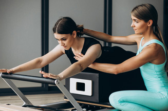 One-On-One Pilates training