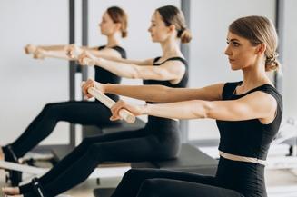 Small Group Pilates training